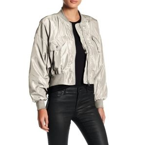 New ROMEO+JULIET COUTURE Bomber Cropped Jacket